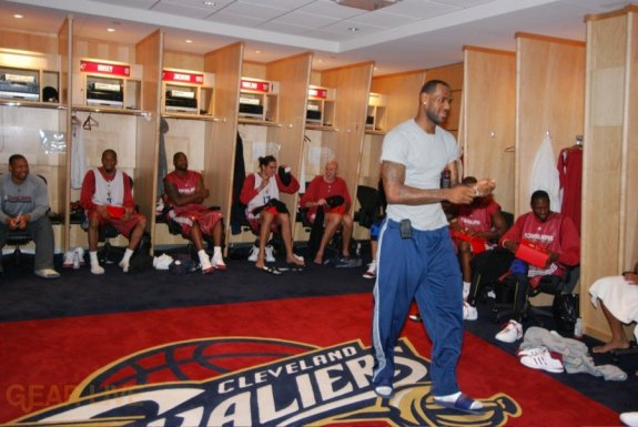 The Cavaliers' Locker Room Definitely Smelled Like Weed After Game 2