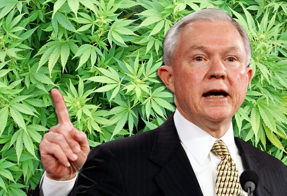 Science Kicks Jeff Sessions In TheAss!